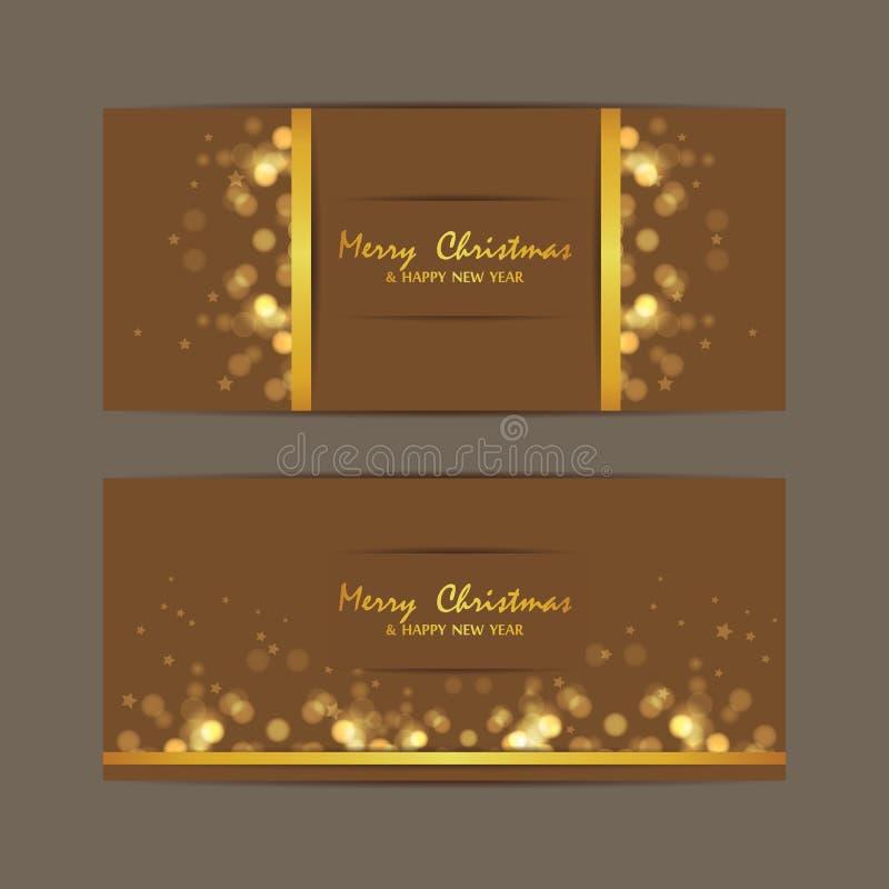 Joyeux Noël et bonne année, conception photographie stock libre de droits