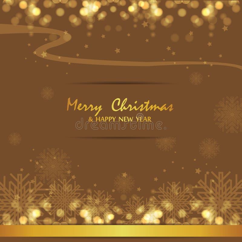 Joyeux Noël et bonne année, conception images libres de droits