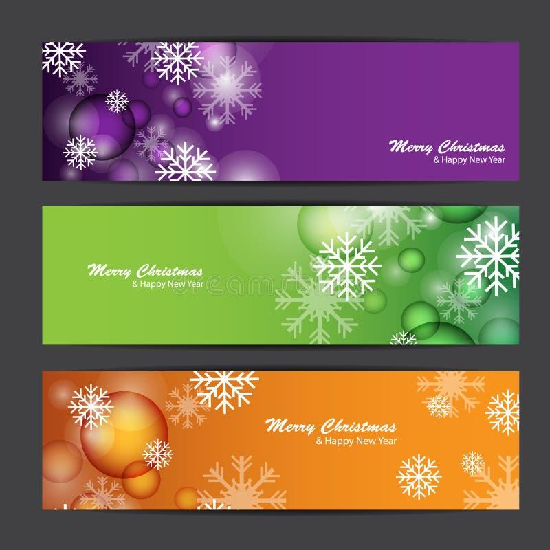Joyeux Noël et bonne année, conception de vecteur image libre de droits