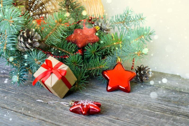 Joyeux Noël et bonne année Fond photos libres de droits