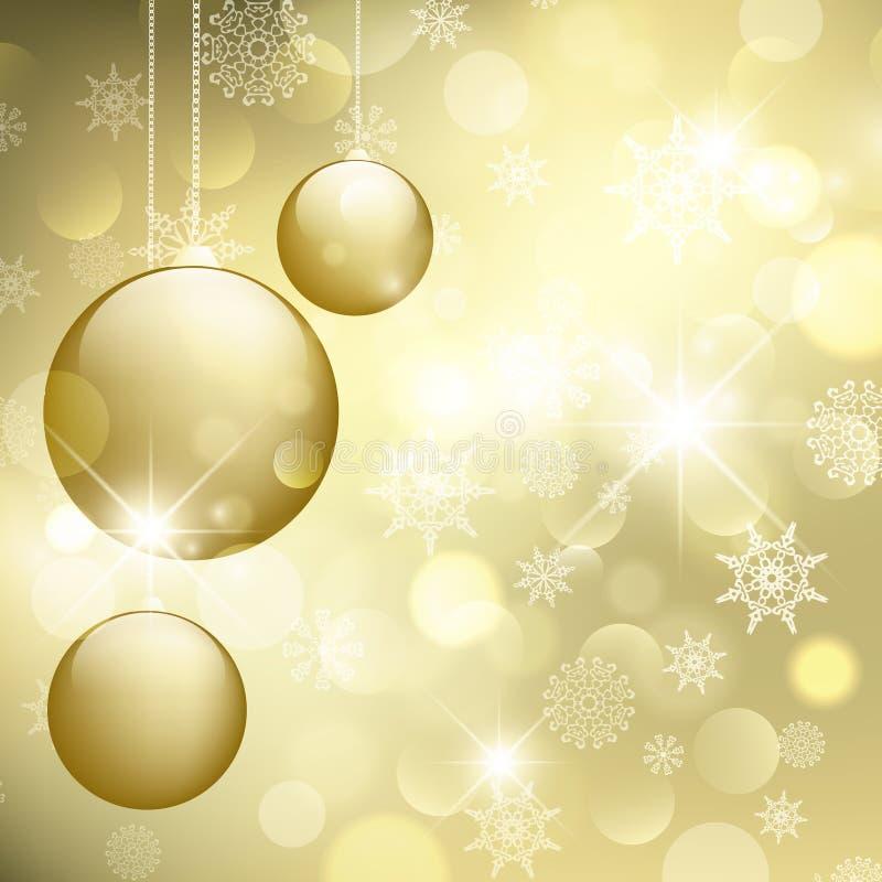 Joyeux Noël et an neuf heureux ! illustration libre de droits