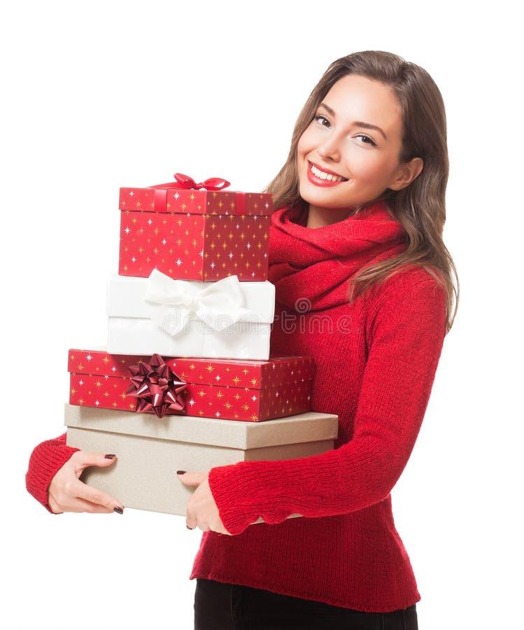 Joyeux Noël heureux photos stock