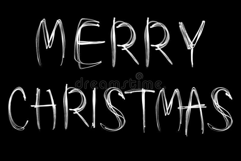 Download Joyeux Noël Sur Le Fond Noir Image stock - Image du texte, abouti: 77154677