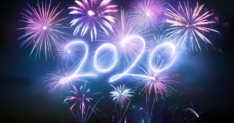 Joyeux Nouvel An 2020 images libres de droits