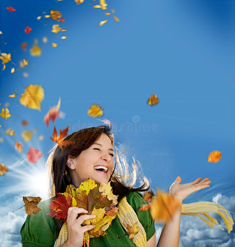 Joyful Autumn 2 Royalty Free Stock Photo