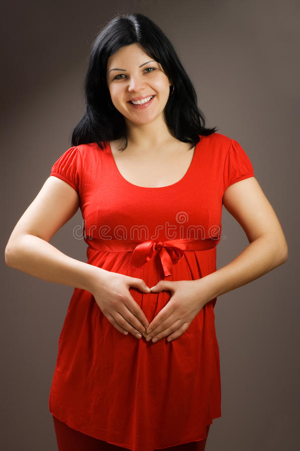 Download Joyful Beautiful Pregnant Woman Stock Photo - Image: 11655170