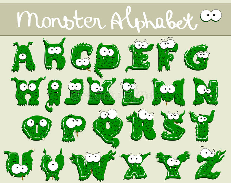 Download Joyful Cartoon Font - From A To Z Stock Illustration - Image: 21053437