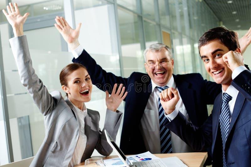 Joyful Group Stock Images