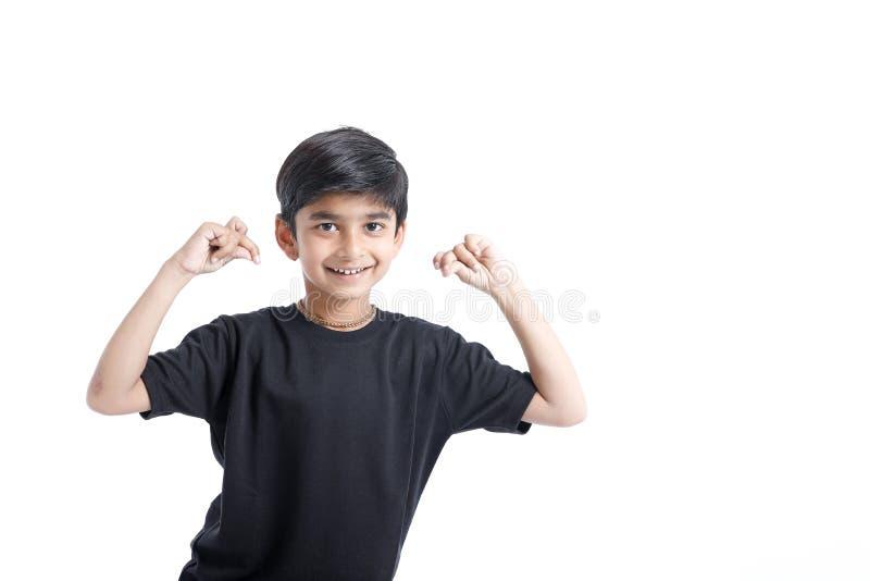 Joyful Indian Little boy stock image