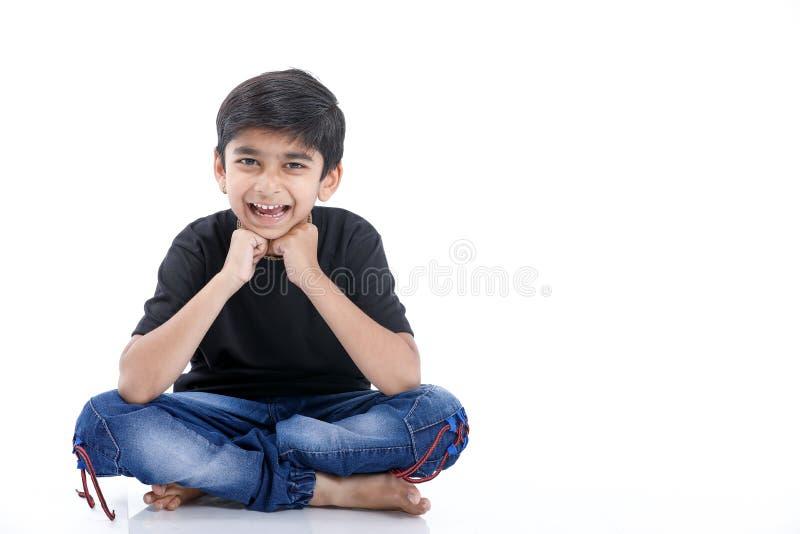 Joyful Indian Little boy royalty free stock images