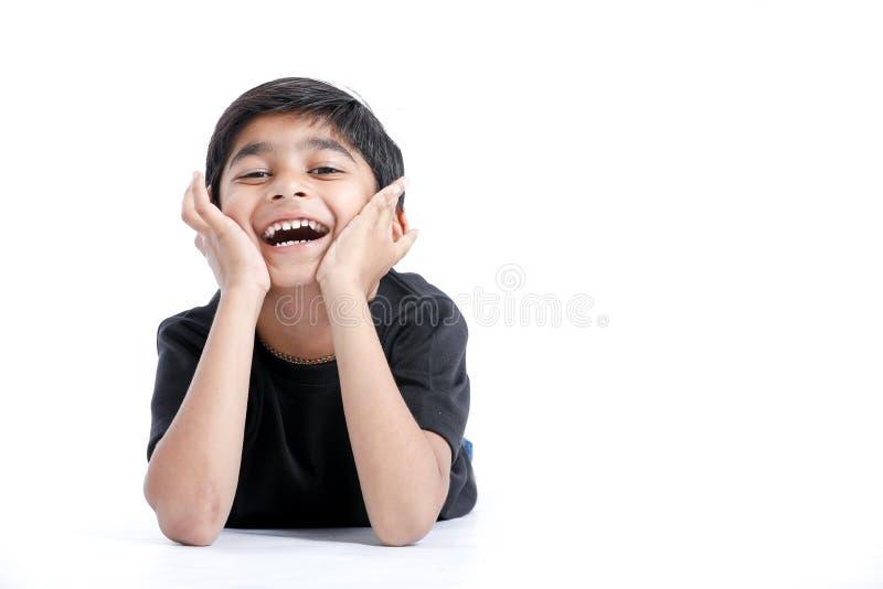 Joyful Indian Little boy royalty free stock image
