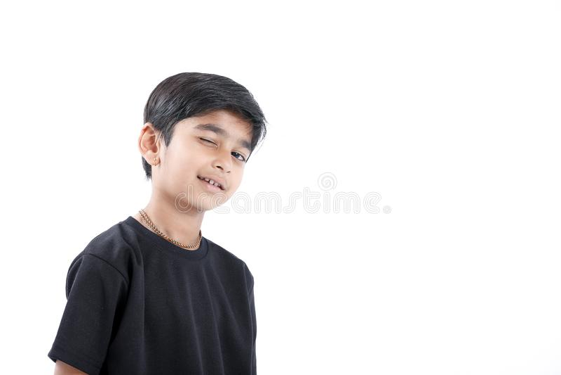Joyful Indian Little boy royalty free stock photography