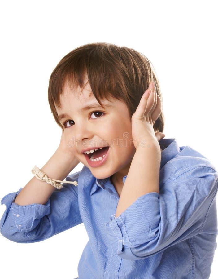 Joyful Kid Royalty Free Stock Photo