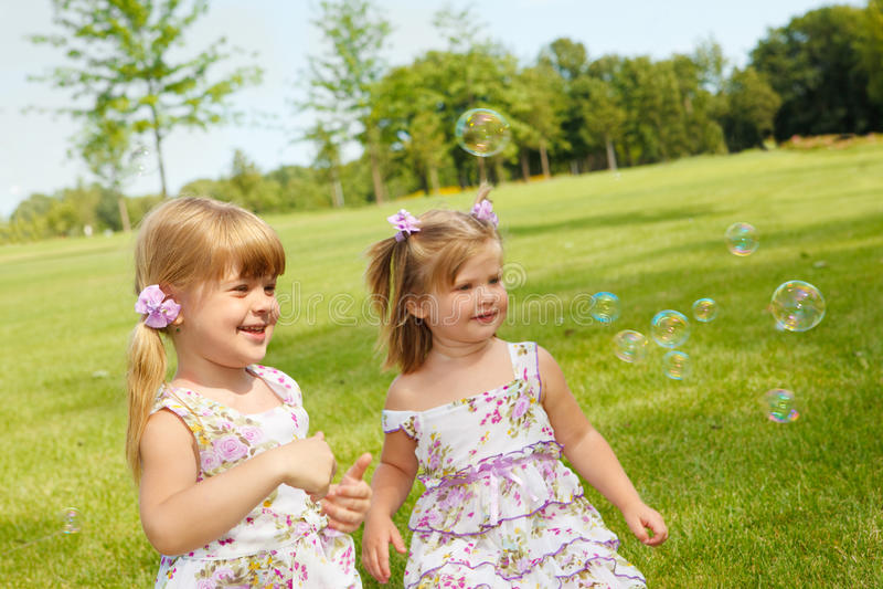 Download Joyful kids stock photo. Image of child, embrace, natural - 15355674