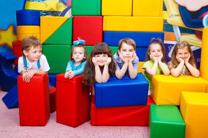 Download Joyful kids stock photo. Image of caucasian, inside, handsome - 15441478