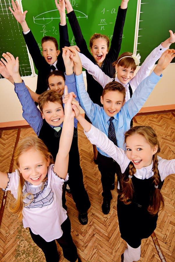 Joyful kids royalty free stock photography