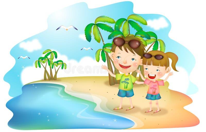 Download Joyful Life stock illustration. Illustration of painting - 26321444