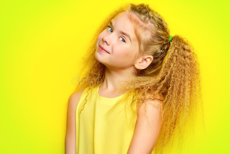 Joyful little girl stock photography