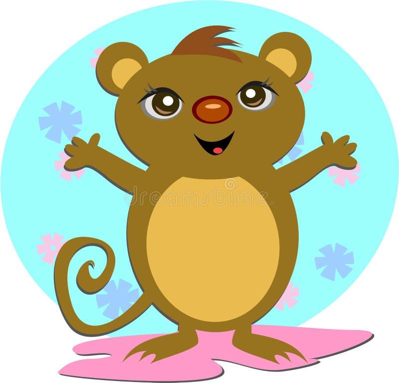 Joyful Mouse Royalty Free Stock Image