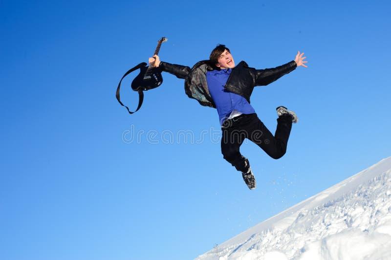 Download Joyful musician stock image. Image of beauty, leisure - 21151533