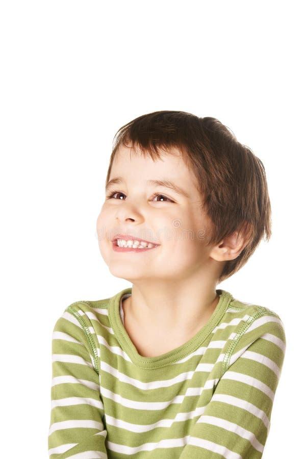Joyful pojke royaltyfri bild