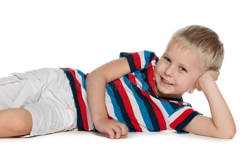 Joyful preschooler stock images