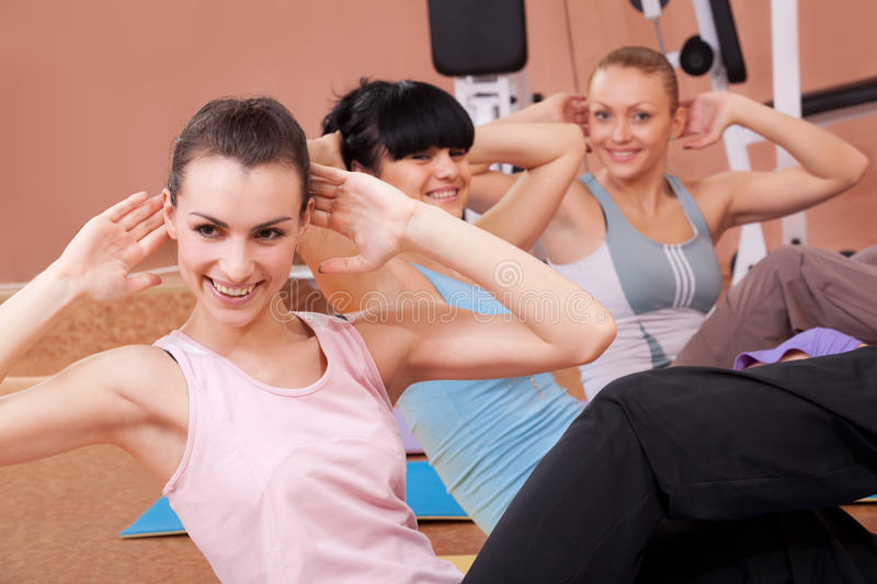 Download Joyful Young Women Working Out Stock Photo - Image: 13237784