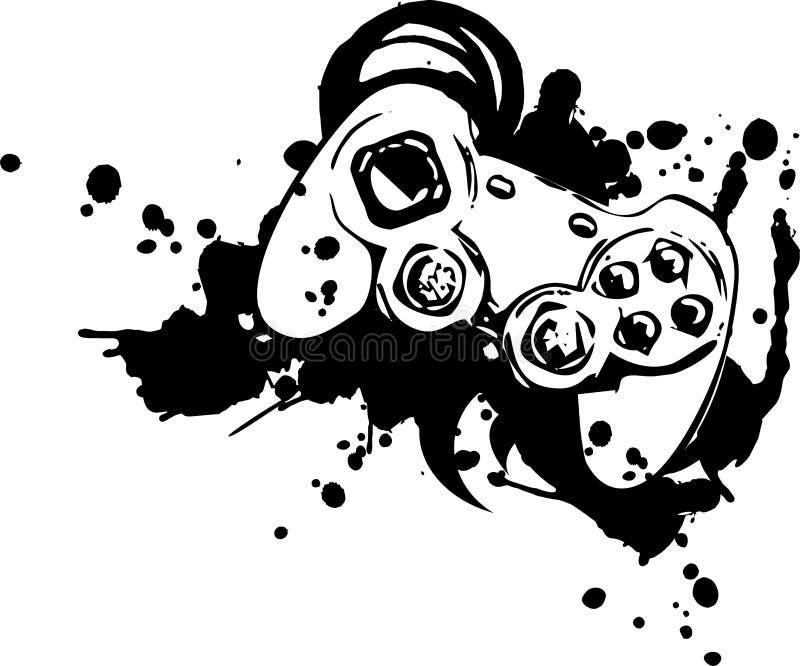 Download Joypad stock vector. Illustration of joypad, play, white - 9056280