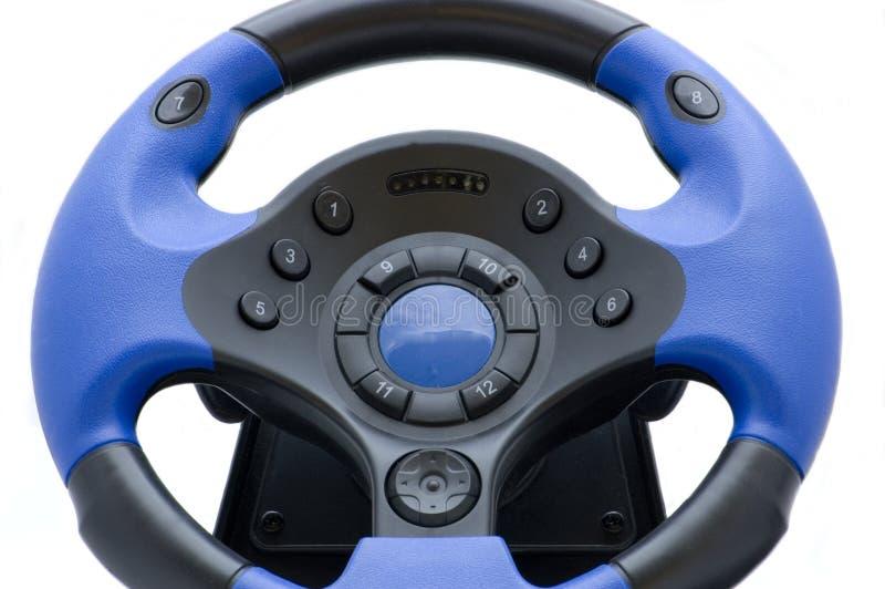 Download Joypad azul imagen de archivo. Imagen de reguladores, blanco - 7287773