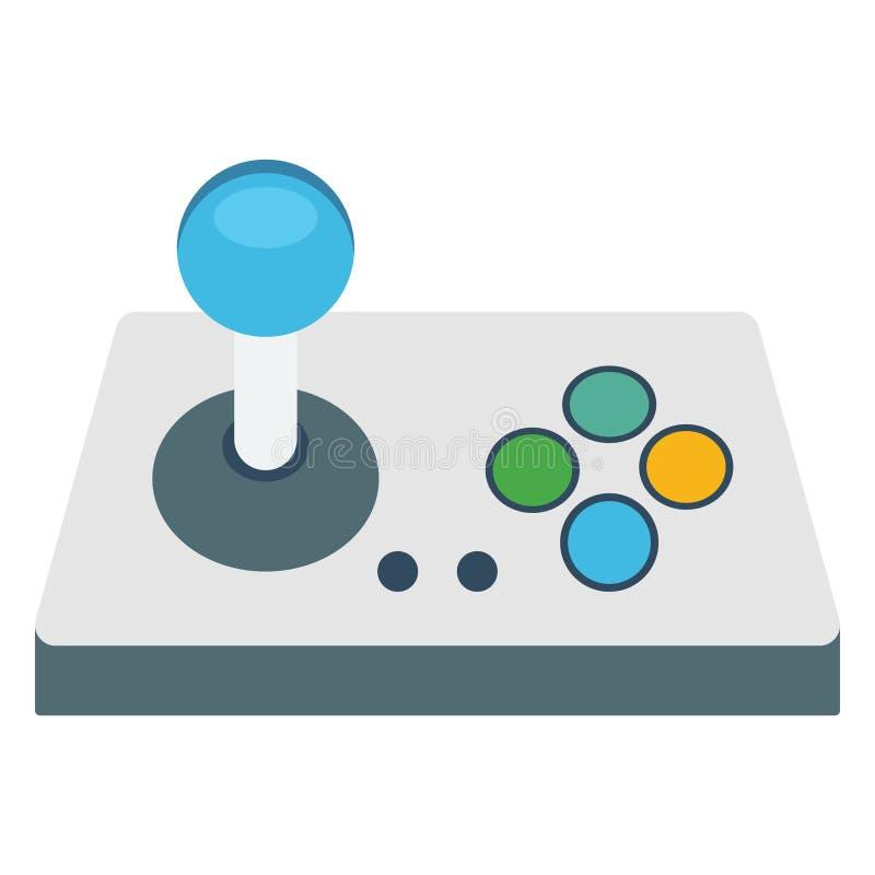 Joystick Isolated Vector Illustration Icon editable stock illustration