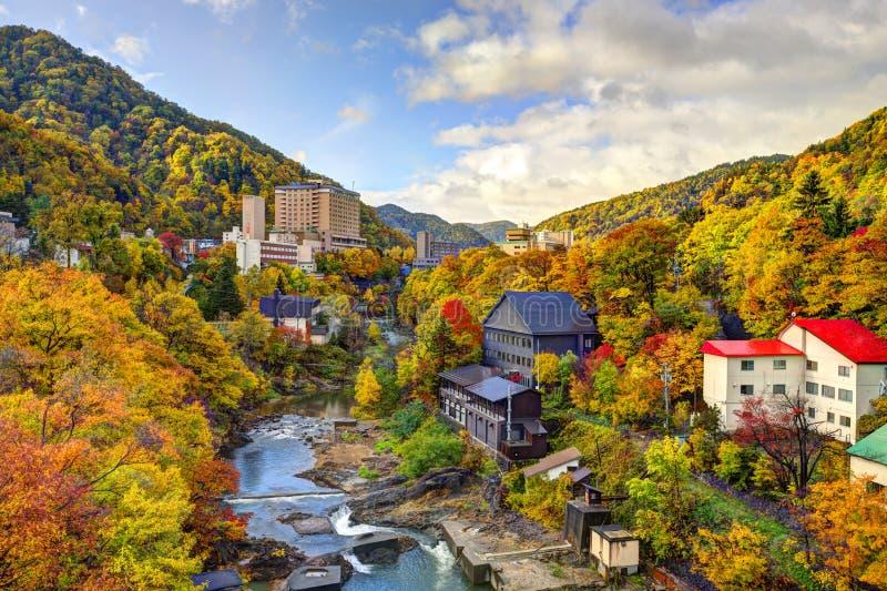 Jozankei, Ιαπωνία το φθινόπωρο στοκ εικόνες