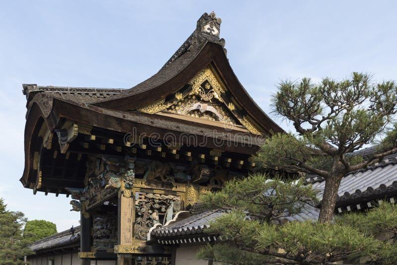 JP_Kyoto_Nishi-Hongan-ji_Tempel-21 images stock