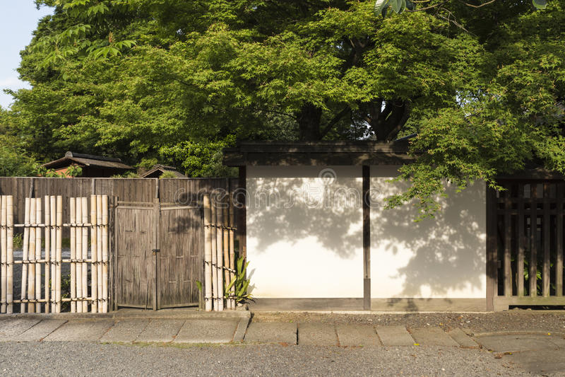 JP_Kyoto_Nishi-Hongan-ji_Tempel-22 image stock