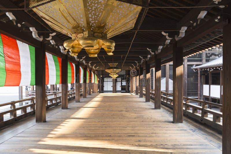 JP_Kyoto_Nishi-Hongan-ji_Tempel-12 стоковое изображение rf