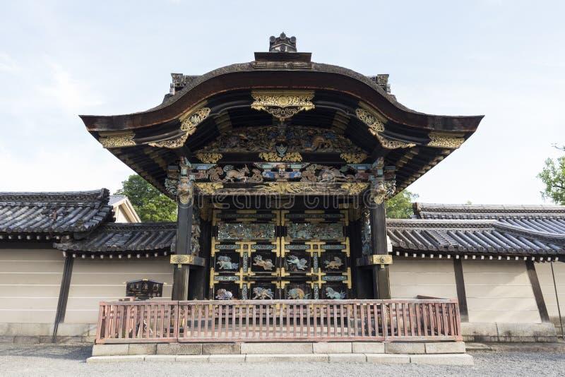 JP_Kyoto_Nishi-Hongan-ji_Tempel-16 royalty-vrije stock afbeeldingen
