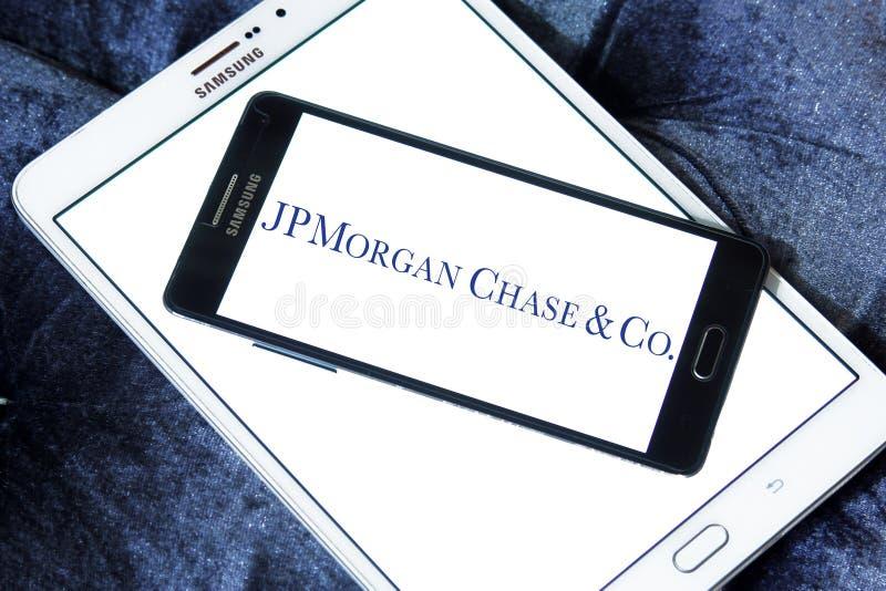 Jp morgan chase bank logo royalty free stock photography