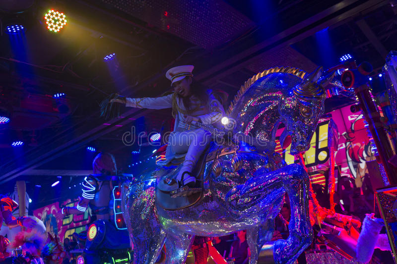 Tokyo Robot Restaurant 48 royalty free stock images