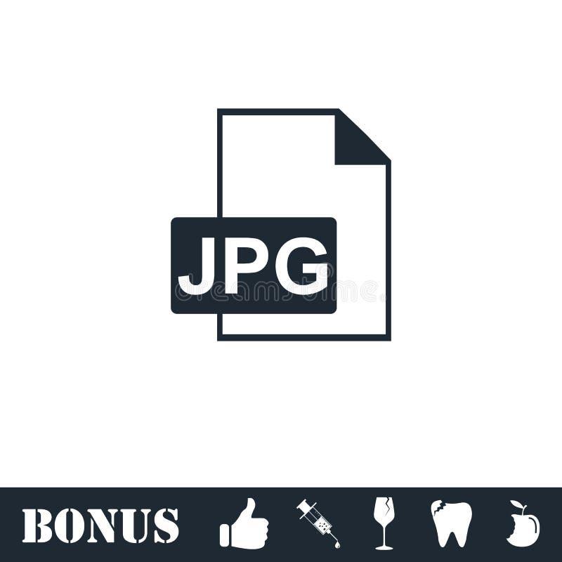 Jpeg-symbolsl?genhet vektor illustrationer