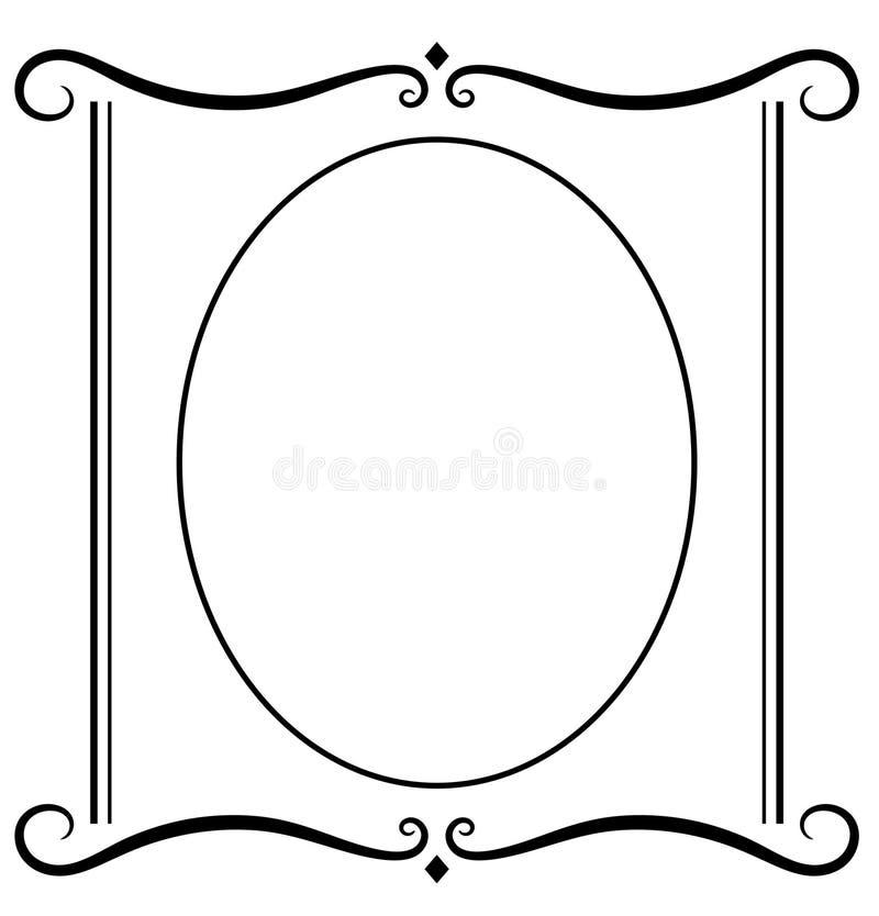 JPG decorativo del blocco per grafici, ENV illustrazione di stock