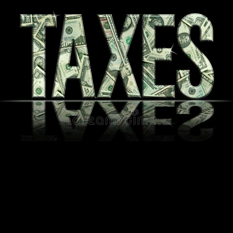 JPG taxes1 向量例证