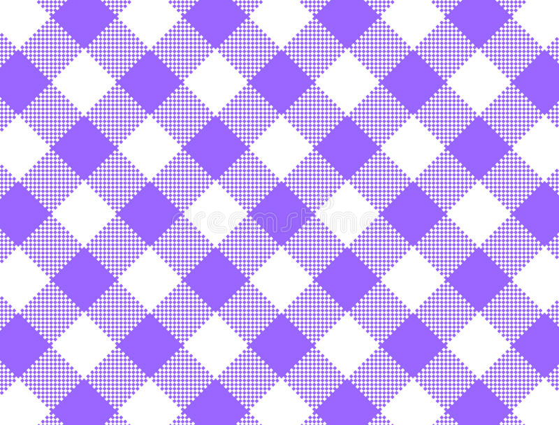 Download JPG Woven Purple Gingham stock vector. Image of plaid - 13977863
