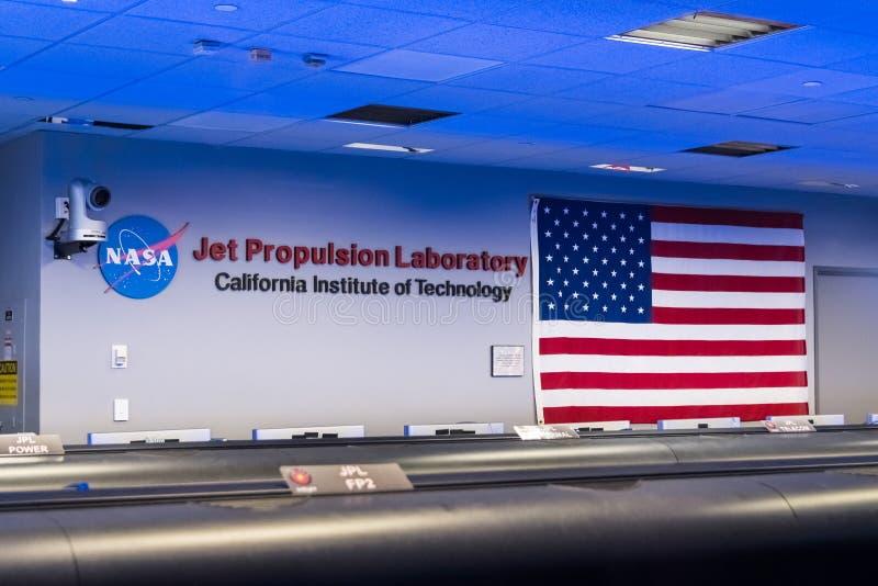 JPL-Besuch an der ` A ` offenes Haus ` jährlicher Veranstaltung Karte, zum von JPL-` zu erforschen stockfotografie