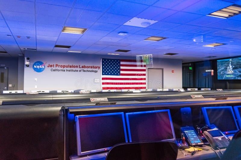 JPL-Besuch an der ` A ` offenes Haus ` jährlicher Veranstaltung Karte, zum von JPL-` zu erforschen lizenzfreies stockbild