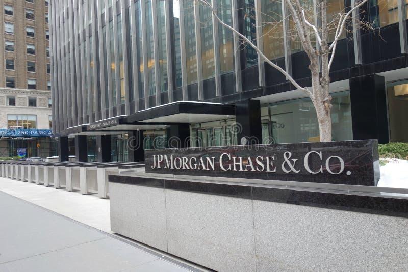 JPMorgan Chase Headquarters stock photos