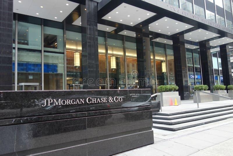 JPMorgan-Jachthoofdkwartier royalty-vrije stock foto