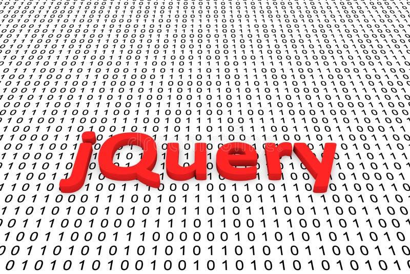 JQuery illustrazione vettoriale