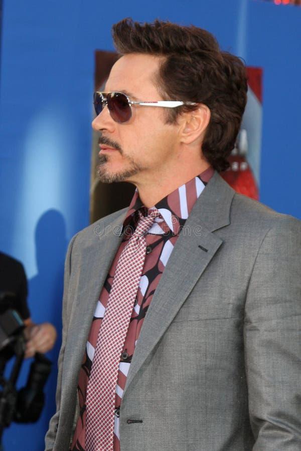 JR de Robert Downey, photo stock
