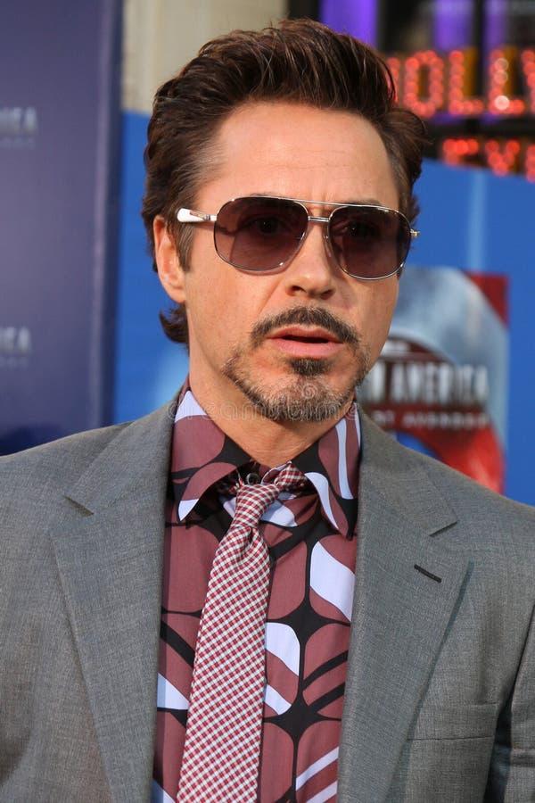 JR de Robert Downey, photos stock