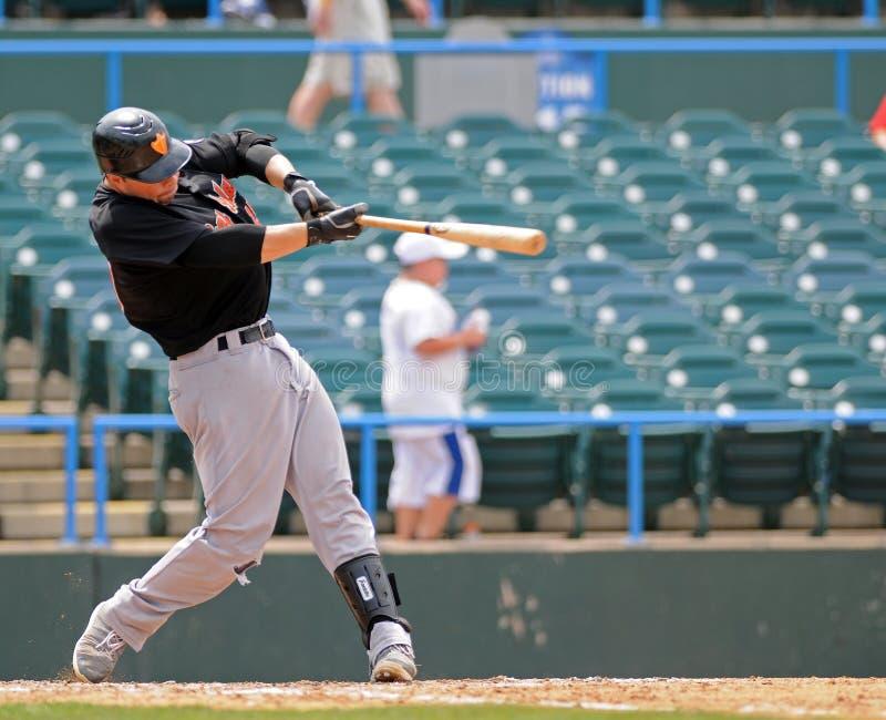 JR. Hausschlagen - Baseball stockbild