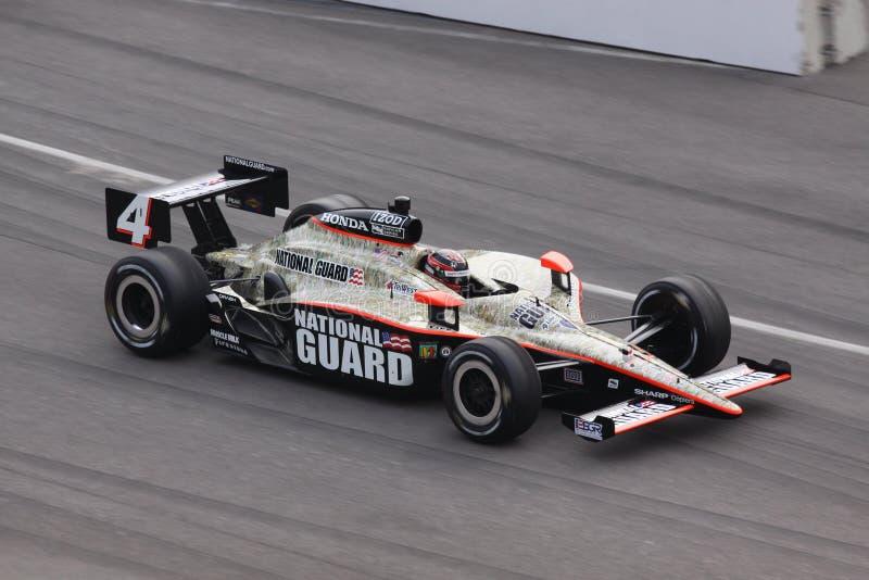 JR. Hildebrand 4 Indianapolis 500 Pole Tag 2011 lizenzfreie stockfotografie